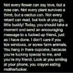 vulgar, but yeah..
